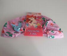 Disney Princess Ariel Little Mermaid Shower Cap Bath Hat Novelty Caps Pink