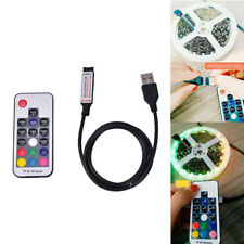 Usb Led Strip Lights Rgb Usb Ir Rf Remote Controller With 17 Key Remote Wireless