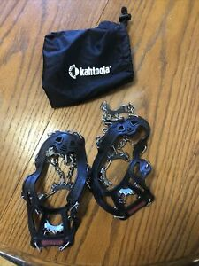 Kahtoola MICROspikes Traction System-Small-Black With Bag