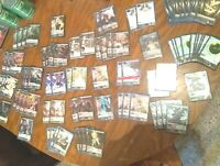 86 LOT Force Of Will TCG, ART FOILS, ACTIVATES, RARE CARDS, In Protective Covers