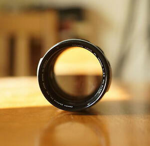 Canon FL FD 135mm f2.5 1:2.5 Manual Focus Prime Lens Tested Working