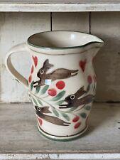 Bell Pottery Spongeware Jug