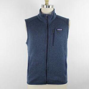 Patagonia Men's Blue Better Sweater Fleece Vest Size M