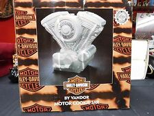 "Harley Davidson Cookie Jar Twin Engine Motor Vandor 11""  Premiere Edition"