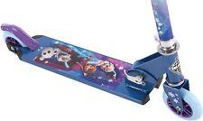 Disney Frozen Scooter Anna Elsa Olaf 2 Wheels Adjustable Inline Girls Kids