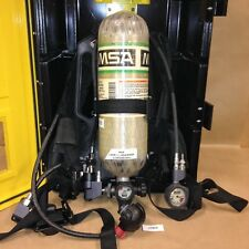 MSA H-30 7-947-1 30-Min High Pressure Composite Cylinder w/ Harness and Cabinet