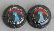 Capsule de champagne De Castelanne N°42 lettres fines et lettres épaisses