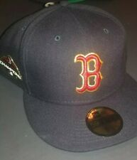 Boston Red Sox New Era 59Fifty 2018 World Series Champions Fitted Hat Gold 8 1/8