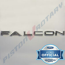FALCON Boot Badge Letter Set ,Chrome, New, for FORD XR XT Falcon 351 GT Fairmont