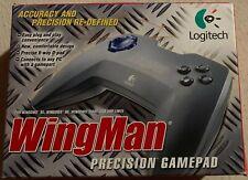 Logitech Wingman Precision GamePad Controller PC / New Old Stock