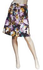 "BNWOT Just Cavalli ""Floral"" Denim Skirt Size 40"
