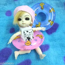 1/6 Bjd Dollfie Yo-SD Momoko Blythe Hujoo Doll Miniature Mini Swim Ring Pink