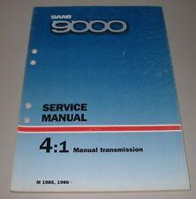 Service Manual Saab 9000 Transmission Baujahre 1985 / 1986 Werkstatthandbuch!