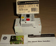 General Electric CR72AMH Manual Motor Controller Starter GE NEW