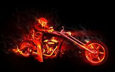Ghost Rider Poster Length :800 mm Height: 500 mm SKU: 4140