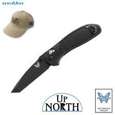 Benchmade 553BK Griptilian AXIS Lock Knife 154cm BLACK TANTO Blade FREE HAT