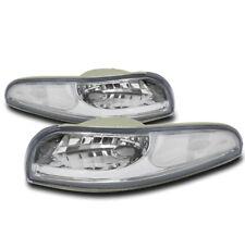 97-04 CHEVY CORVETTE C5 Z06 BUMPER SIGNAL PARKING LIGHTS LAMP CHROME 00 01 02 03