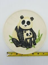 Goebel W Getmany Handpainted Mothers Series 1977 Edition Pandas