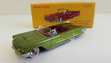 Dinky Toys Atlas -  Ford Thunderbird Cabriolet verte + fascicule