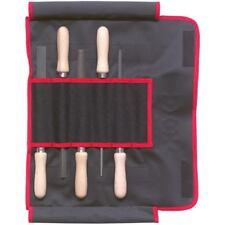 DICK Feilen 5-teilig 200 mm Hieb 2 mit Buchenholzheft