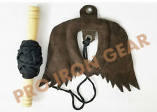 Falconry Leather Bird Lure including creance and Line