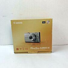 Canon PowerShot A4000 IS 16.0MP Digital Camera - Blue