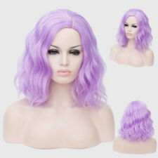 Halloween Lolita Anime Wig Multi Color Women Curly Hair Cosplay Party Costume