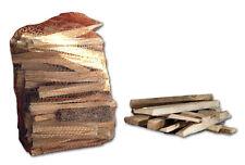 Sacco 3 kg di legnetti di abete accendifuoco per camino stufa a legna