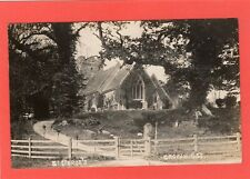 St George's Church Crowhurst Nr Lingfield RP pc used 1905 Ref Q365