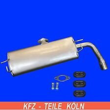 Suzuki Grand Vitara II 4-Wheel - 2.4 AWD Muffler Exhaust System End Silencer