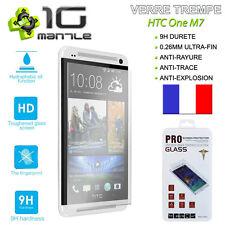 Film Protection/Protege Ecran Vitre/Verre Trempé 9H HTC One M7 Glass PRO+