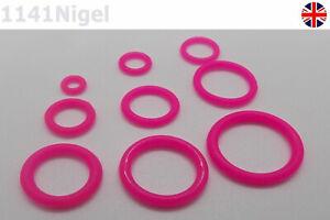 Pink O-ring Food Grade Silicone Seal VMQ Gasket Waterproof Temperature Resist