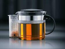 Teebereiter BODUM Bistro Nouveau schwarz 1 L Teekocher Teekanne