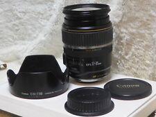 Canon EF-S IS USM 17-85mm f/4.0-5.6 EF IS EF-S USM Lens-Used optics great.