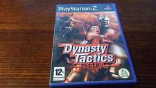 Dynasty Tactics (Sony Playstation 2, PS2) Complete Koei Strategy Rare Warriors