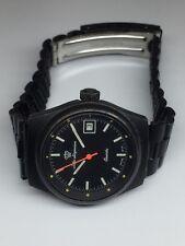 Jules Jurgensen Ladies Dive Watch PVD Swiss Vintage Porsche Design IWC Style 80s
