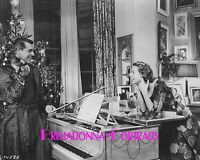 "INGRID BERGMAN & CARY GRANT 8X10 Lab Photo 1958 ""INDISCREET"" Christmas Couple"