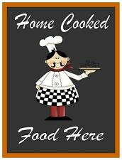Home Cooked Food Pub Resturant Cafe Sign Kitchen Sign Pub Sign Bar Sign