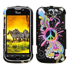 For HTC myTouch 4G HARD Protector Case Snap on Phone Cover Peace Pop
