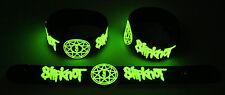 SLIPKNOT NEW! Glow in the Dark Rubber Bracelet Wristband  GG248