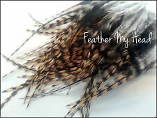 25 Whiting Cree Fly Tying Feather Hair Extensions / Short / Fluff / Lot1