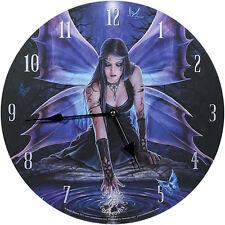 Wanduhr Immortal Flight Anne Stokes 34cm Bilderuhr UHR Fantasy Clock Gothic NEU