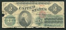 FR. 41 1862 $2 TWO DOLLARS LEGAL TENDER UNITED STATES NOTE