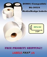 Dymo Labelwriter Xl Compatible Media Diskette Labels 30324 White Multipurpose