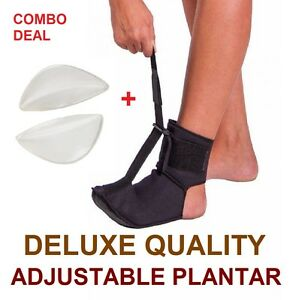 COMBO Adjustable Plantar Fasciitis Foot Brace Foot Pain Toes Sports Night Splint