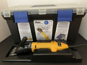 Oster Shearmaster Single Speed Shearing Machine78153-003 with storage case