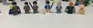 Lego Lot of 7 Harry Potter Minifigures