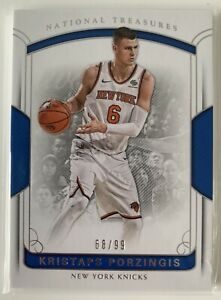 2017-18 Panini National Treasures Kristaps Porzingis /99