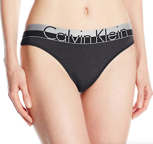 Calvin Klein Black Magnetic Force Thong Panty Women's Underwear Size S 9364