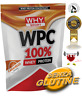 WHY SPORT WPC 100% Whey 1 Kg - Proteine concentrate del siero del latte